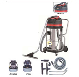 Crv 60-C Ltr Stainless Steel Wet & Dry Vacuum Cleaner (2/3 M)