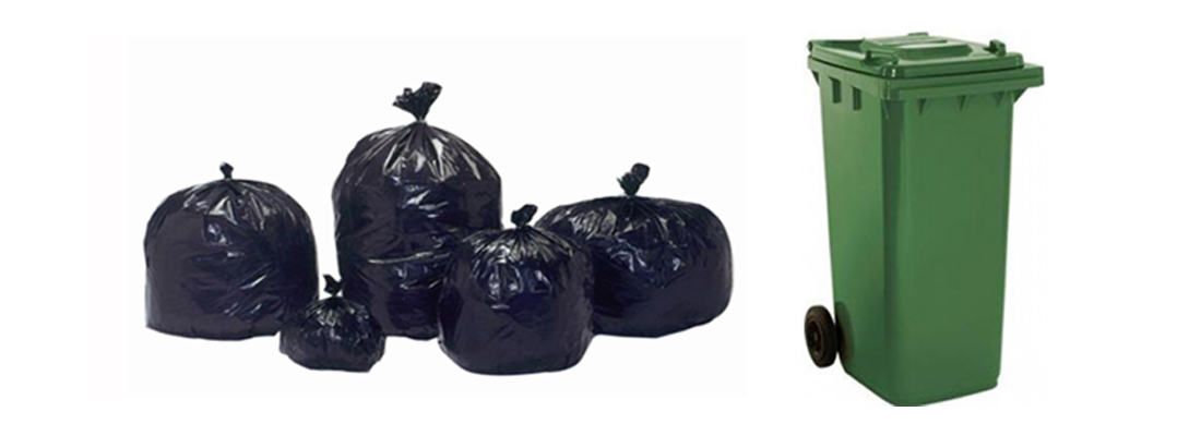 Garbage Bags & Dustbins